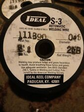 New listing Automatic Welding Wire. 3 spools. ideal Er70S-3 0.035 2 Lbs