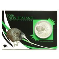 New Zealand - 2004 to 2019- Silver $1 BU- 16x 1 OZ Kiwi Series coins!!! Rare