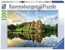 Ravensburger Italy 16301 - Puzzle in Cartone Foresta di Teutoburg, 1500 Pezzi