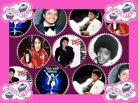 30 x MICHAEL JACKSON PREMIUM QUALITY CUPCAKE TOPPERS EDIBLE RICE WAFER PAPER 134