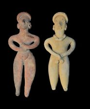 COLIMA AUTHENTIC POTTERY HUMAN FIGURE COLLECTABLE ARTIFACT LEESMAN COLLECTION*