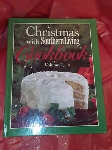 Christmas with SOUTHERN LIVING magazine 1991 Cookbook Vol. 2 HC vintage cookie