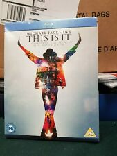 Michael Jackson - This Is It (Blu-ray, 2010) Brand new and Sealed