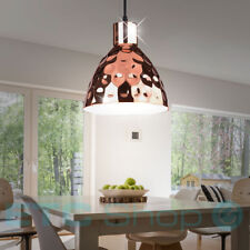 Retro pendant lamp dining room hammered Suspended kitchen lighting rose-gold new