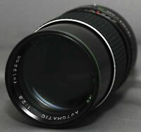 CANON FD f/2.8 135mm  HANIMEX MC AUTO Lens for SLR Camera