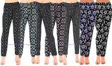Ladies Summer Straight Leg Tapered Stretch Elasticated Palazzo Trousers UK8-22.