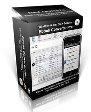 E-Book Pro Converter & Viewer Manager Organiser Software PC & MAC CD-Rom