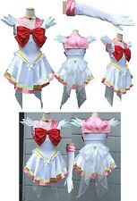 SUPER SAILOR CHIBIUSA CHIBIMOON MARINARETTA COSTUME VESTITO COSPLAY GUERRIERA