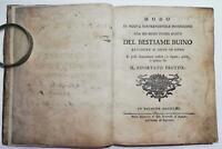 Settecentina Il mercante di Bestie Buine Illuminato Bologna 1765 Due trattati