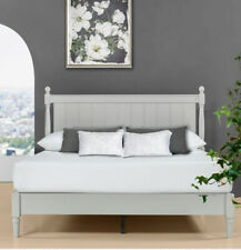 Zinus Provence Cottage Style Super King Size Platform Bed And Headboard