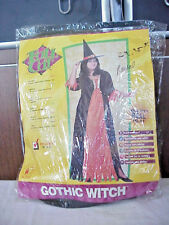 HALLOWEEN COSTUME GOTHIC WITCH SIZE XL 16-20   RUBIES  FULL CUT