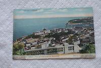 Old Vintage Postcard Monte Carlo General view taken beausoleil gilleta Nice 771