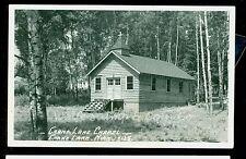 1950's RPPC Crane Lake Chapel Crane Lake MN  Real Photo Postcard  B1114