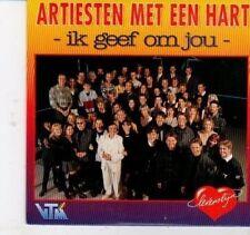 (DH996) Artiesten met een Hart, Ik geef om jou - 1995 CD