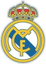 "Real Madrid FC Spain Football Soccer Car Bumper Sticker Decal 4""X5"""