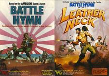 Avalon Hill BATTAGLIA INNO leatherneck Solitaire GIOCO PDF riferimento DISC + Free P+P