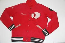 Polo Ralph Lauren Men Indian Head Red Varsity Jacket New York XLarge  XL