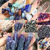 Lots Natural Crystal Quartz Stone Rock Gravel Chip Mineral Specimen Healing HOT