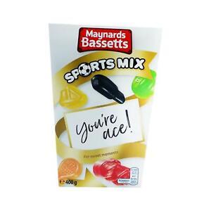 Maynards Bassetts Sports Mix 400g (Box of 6)