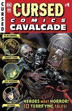 (2018) CURSED COMIC CAVALCADE #1! EC Homage Horror Cover! BATMAN! ZATANNA!