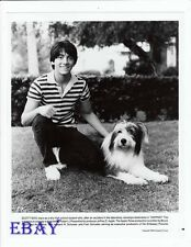 Scott Baio w/dog VINTAGE Photo Zapped