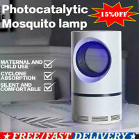USB Electric Fly Bug Zapper Mosquito Insect Killer LED Light Trap Pest Control