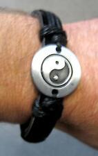 Pulsera de cuero Yin Yang Leather Bracelet Tai Chi
