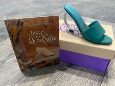 Just the Right Shoe by Raine Geometrika #25029 Mod Circle Heel In Box Paperwork