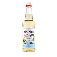 Monin Vanilla Sugar Free syrup 1 litre