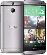 HTC One M8S 16GB Gunmetal Gray *UNLOCKED* 4G HD Smartphone With Accessories A++