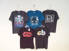 Lot of 5 Star Wars Men's Shirts Size Large T-Shirt Darth Vader Clone Trooper