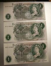 Very old £1 Notes X 3 All in great condition