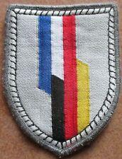 Deutsch Französische Brigade Patch Verbandsabzeichen