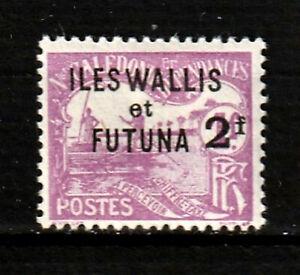 WALLIS ET FUTUNA TAXE N° 9 Neuf*. Colonies Françaises. Cote 20 €