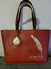 Rare HTF Harry Potter X Loungefly Red Tote Bag - NWT - Pre-Production Sample