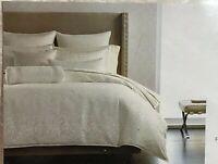 HOTEL COLLECTION FULL-QUEEN duvet Comforter Cover PLUME WHITE $370