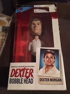 """NEW Dexter Morgan """"America's Favorite Serial Killer"""" Bif Bang Pow! Bobblehead"""