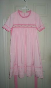 Handmade Version Caroline's Meet Dress fits Girls Size 10 for American Girl Fans