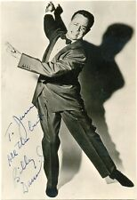 Billy Daniels signed postcard autograph 1950s US singer That Old Black Magic