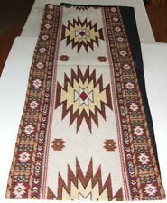"""Table Runner Southwestern Woven 13x72"""" Great Quality Native Blanket Yuma #12057"""