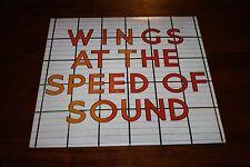 PAUL McCARTNEY WINGS AT THE SPEED OF SOUND LP BEATLES