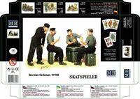 MAS3525   Masterbox 1:35 - Skatspieler
