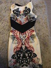 Karen Millen Ocasión/Lápiz Bodycon Vestido Talla 12
