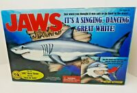 Vintage Gemmy 2000 Jaws Singing Great White Shark Mack The Knife Motion