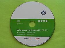 CD NAVIGATION FX SKANDINAVIEN 2012 V4 VW RNS 310 GOLF 6 EOS SEAT SKODA AMUNDSEN