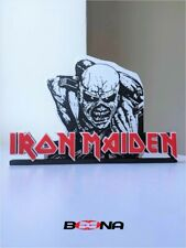 More details for decorative iron maiden self-standing logo display