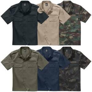 Brandit US Hemd kurzarm S-7XL Diensthemd Security Freizeithemd Worker halbarm