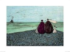 DOG ART PRINT The Same as It Ever Was Sam Toft 25x16