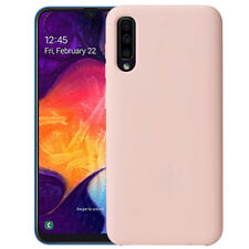 Samsung Galaxy A50 Siliconen Hoesje Roze Premium Back Cover Shockproof Case