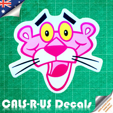 Classic Pink Panther Cartoon Kids Luggage Sticker Skateboard Guitar Scooter